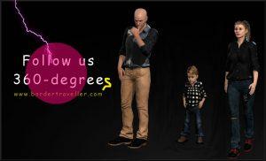 360 Degree Comics – interactive storytelling