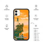 Biodegradable iphone case – Bordertraveller Mountain